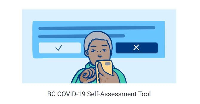 Required Covid-19 Self Assessment image