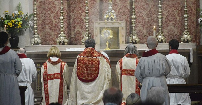 The Feast of Corpus Christi - Solemn Mass, Procession and Benediction image