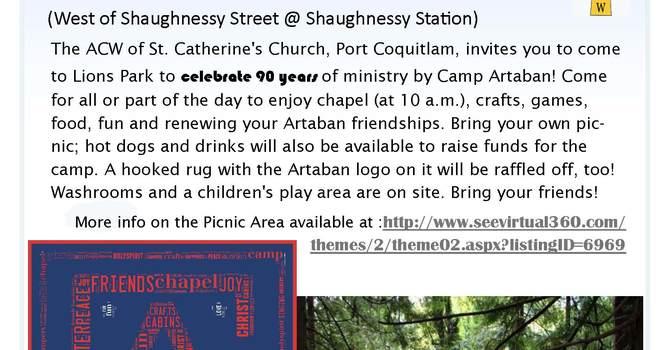 Camp Artaban Picnic image
