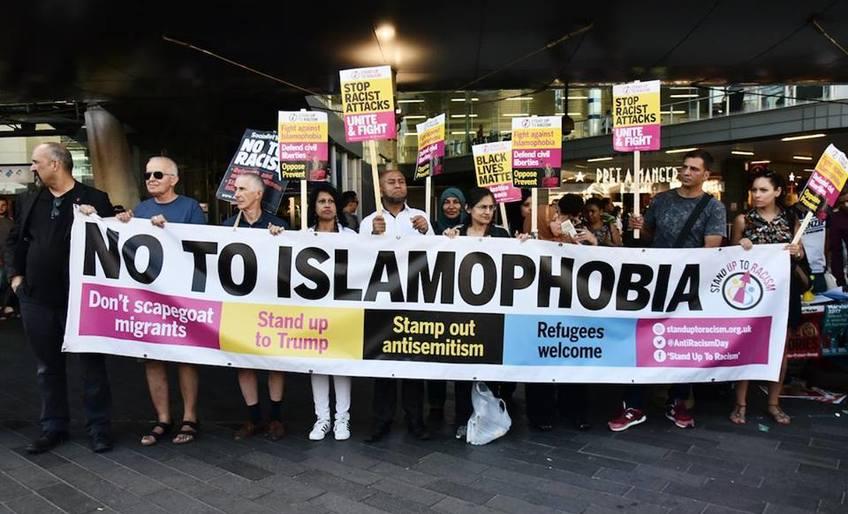 """Say """"No"""" to Islamophobia Rally"""