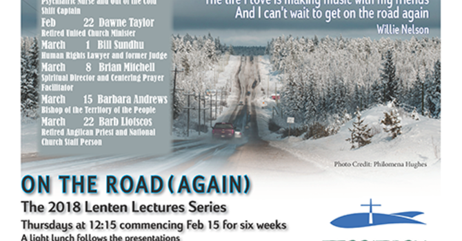 St. Paul's 2018 Lenten Lectures ON THE ROAD(AGAIN) image