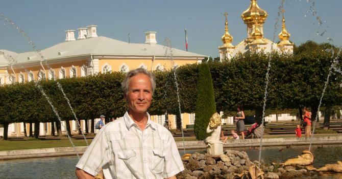 Galina And Glenn In Russia image