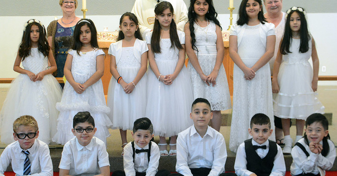 First Communion at Epiphany, Surrey