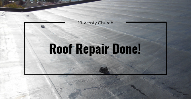 Roof Repair Completed image