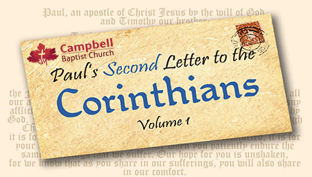 Paul's Second Letter to the  Corinthians Vol. 1
