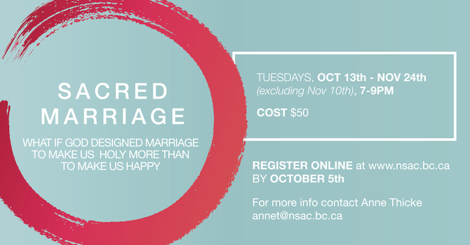 Sacred Marriage Course image