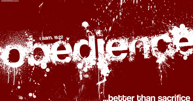 Obedience: End Or Means? image
