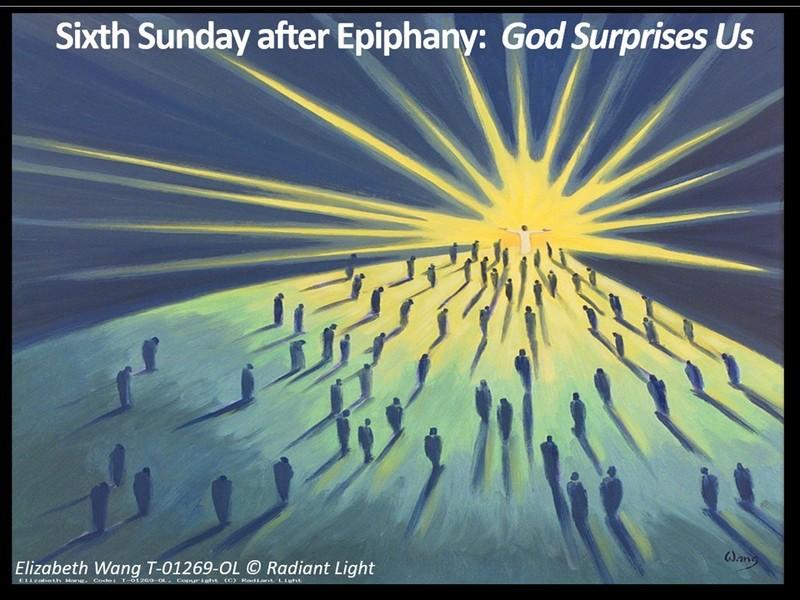 God Surprises Us