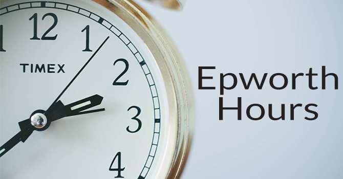 Epworth Building Hours 8/23/16 image