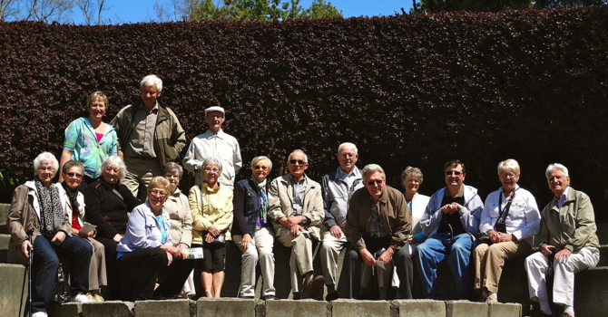 Seniors Visit Van Dusen Gardens image