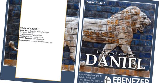 August 20, 2017 Bulletin image