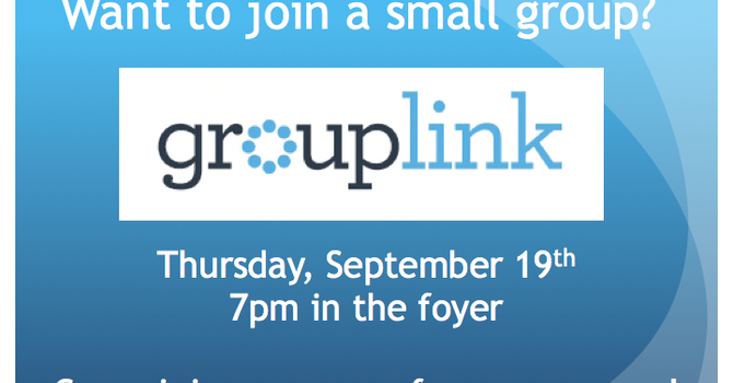 Get Involved in a Small Group image