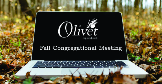 Fall Business Meeting
