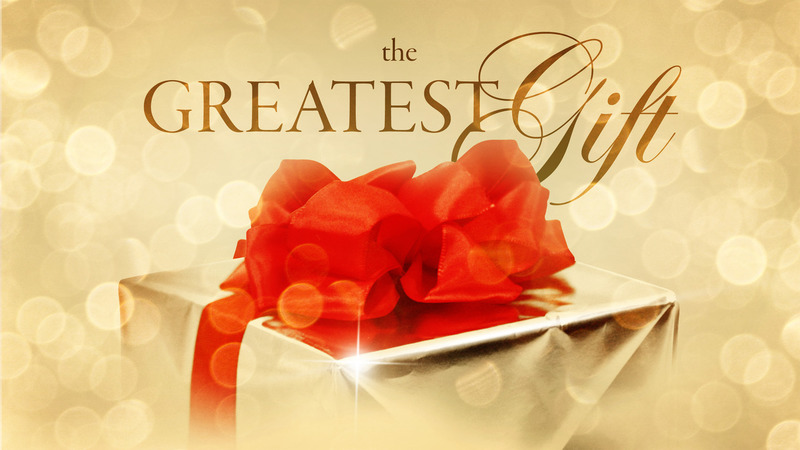 The Greatest Unwrapped Gift Ever