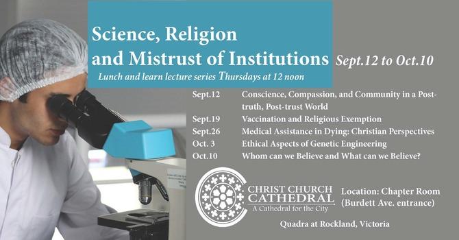 Science, Religion & Mistrust of Institutions