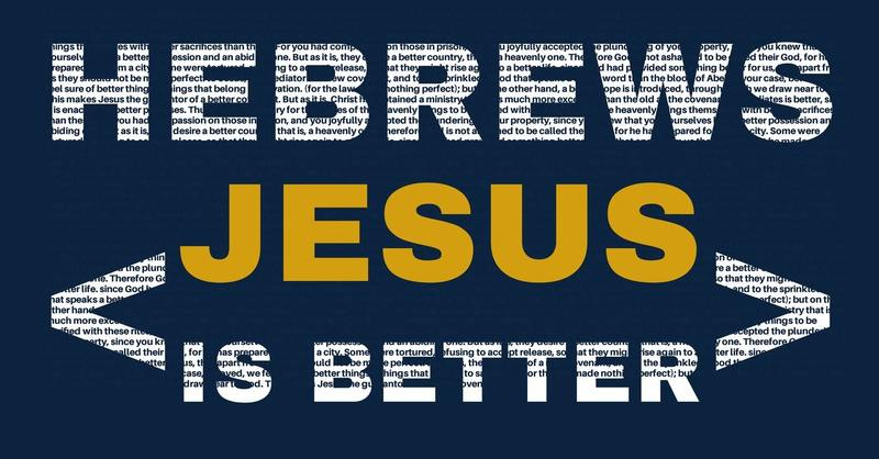 Jesus is a BETTER PLACE of WORSHIP
