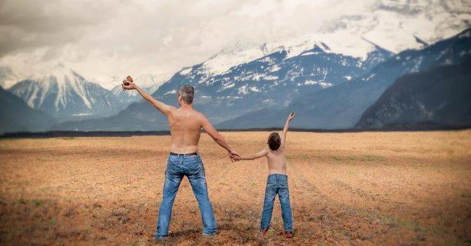 Father - Son....    Son - Believer....  same same image