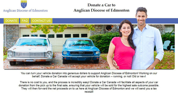 Gift a Car to the Diocese