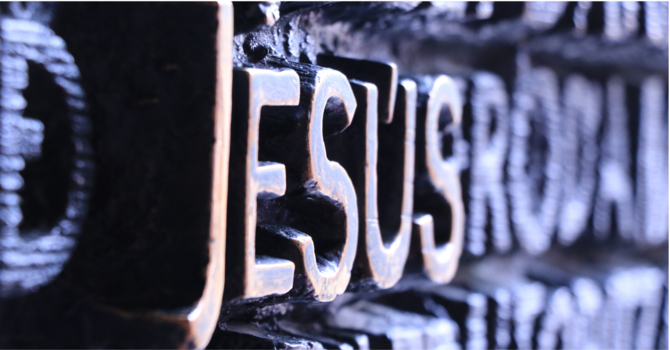 Who is Jesus for you?