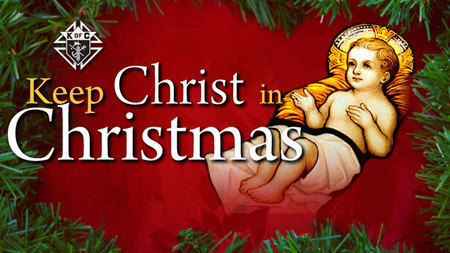 Keep Christ in Christmas Colouring and Collage Contest