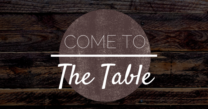 At The Table, There Is Always Grace