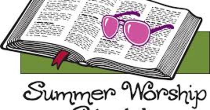 Summer Schedule image