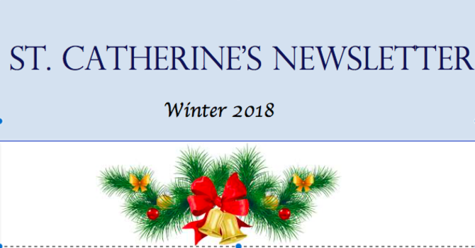 St Catherine's Christmas Newsletter image