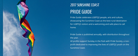 St. Hilda's featured in inaugural Sunshine Coast Pride Guide