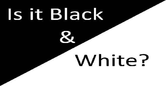Is it Black & White? image