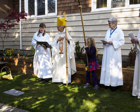 St. Agnes' Welcomes Bishop Skelton for All Saints Eucharist