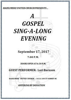 Gospel event 170917
