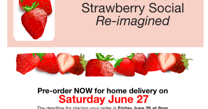Strawberries from St. Anselm's
