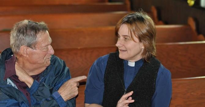 Bishop Jim Cruickshank Visits St Barnabas, NW image