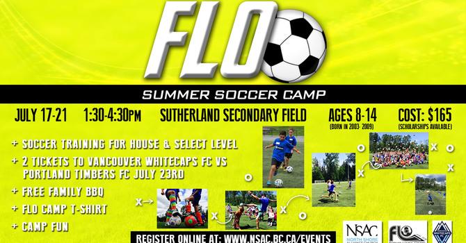 Flo Soccer Camp Volunteers image