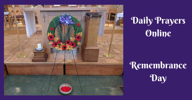 Daily Prayers for Wednesday, November 11, 2020