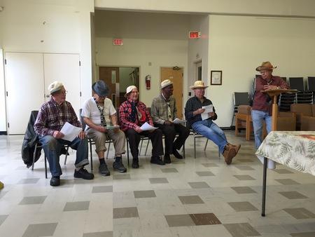 Men's Group at Neighbourhood Lunch
