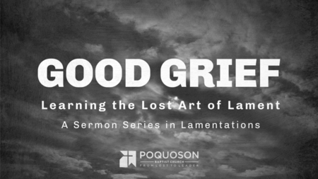 Good Grief: The Lost Art of Lament
