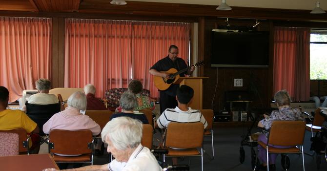 Blenheim Lodge Sunday Service image