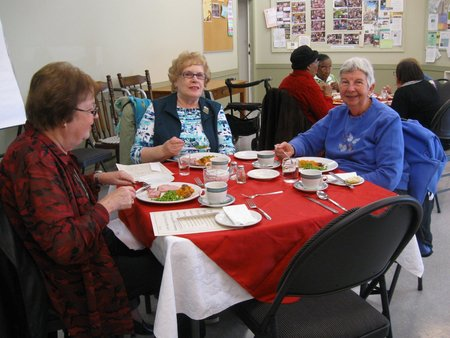 November Hot Senior's Lunch