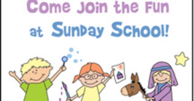 SUNDAY SCHOOL - Special Sundays image