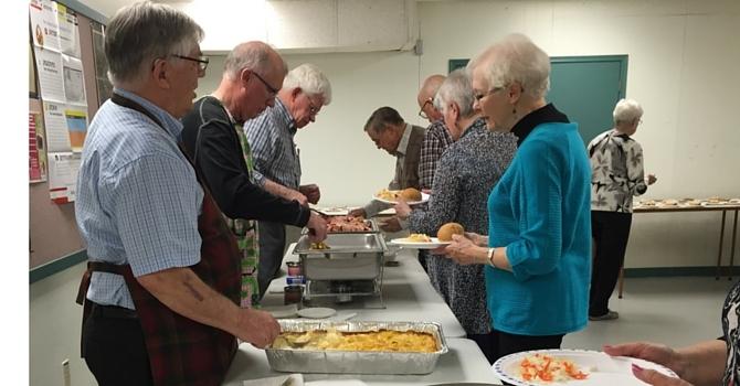 Senior Men's Ham Supper image
