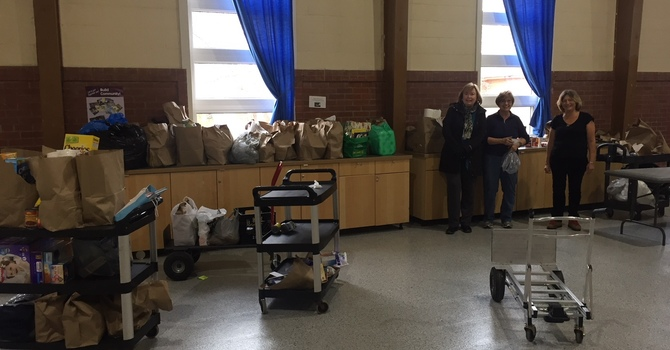 Donation drive for food bank a big success! image