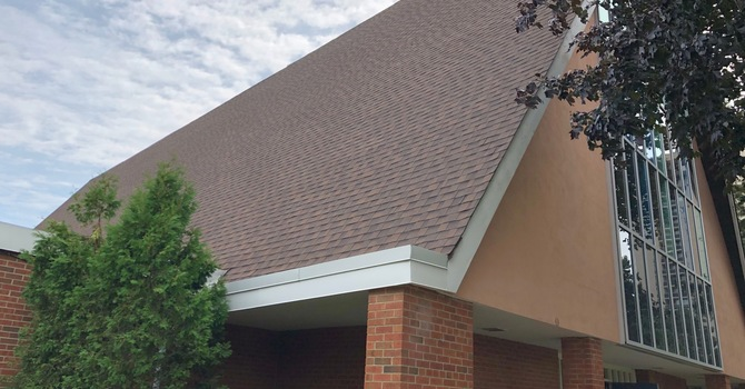 A new roof! image
