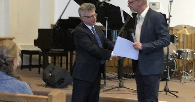 Ordination Service for Mark Broadus image