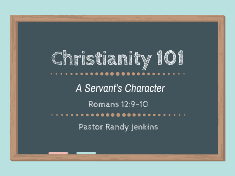 A Servant's Character