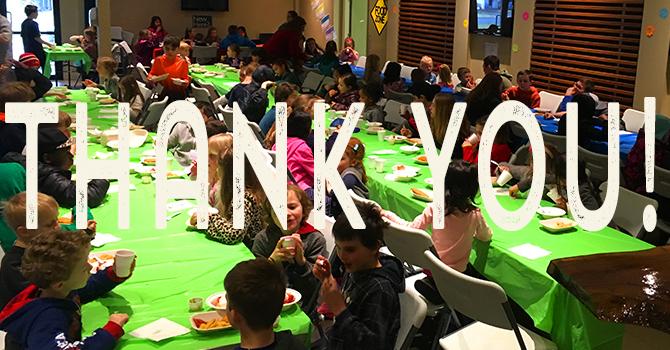 Thank You Spring Break Camp Volunteers! image