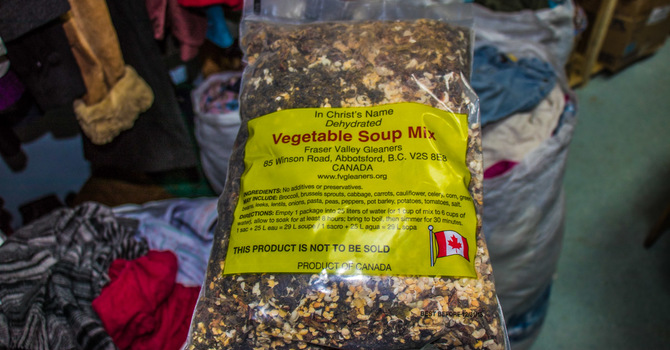 Soup mix to Zimbabwe image