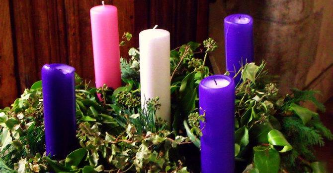 The Advent Wreath and Candles image