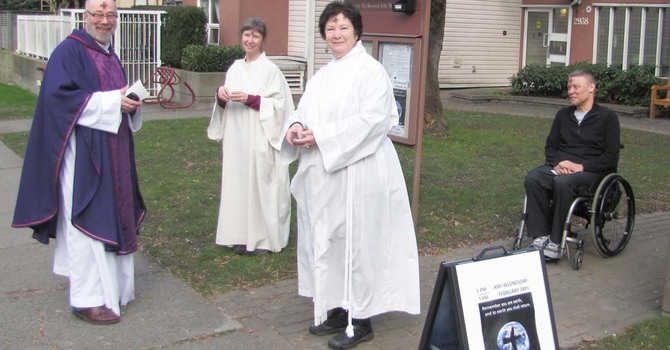 Ash Wednesday on the Road image