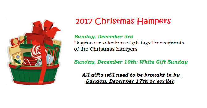 2017 Christmas Hamper Program image